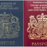 영국 정부 여권 색상을 바꾸기로 결정